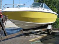 Description 1979 Caravelle Bow Rider 18' with trailer.