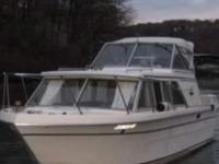 1979 25ft Carver Cabin Cruiser with newer Jasper