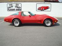 Stk#048 1979 Chevrolet Corvette Exterior: Red paint