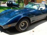 1979 Chevrolet Corvette in Excellent Condition Dark