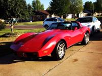 Super clean and very fun '79 Corvette - red, t-tops (NO
