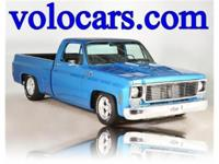 CUSTOM TRUCK WITH CHOPPED TOP AND BIG BLOCK POWER. THE