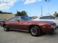 1979 Chevy Camaro coupe inline 6 cyl Real miles runs &
