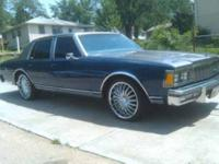 PRICE REDUCED.. 1979 CHEVY CAPRICE MUST GO. DO NOT HAVE