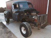 Have 79 truck rolling frame with 53 dodge body which