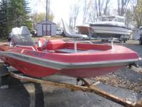 Just arrived this 1979 Chrysler Bass Boat....It comes