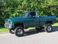 1979 CHEVY TRUCK 4X4 1/2 TON SHORT BOX AUTOMATIC