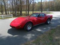 '79 CORVETTE GROUND UP RESTORATION, RED ON RED,