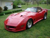 This is a beautiful custom corvette with all the