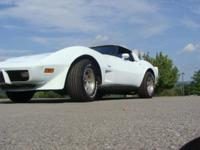 This beautiful 1979 Corvette has been partially