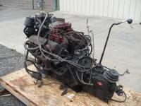 1979 V8 Diesel Engine with 5-speed manual gear box was