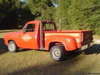 1979 Dodge ''Little Red Express'' Truck: NO RUST