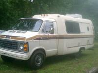 1979 Dodge Uni Van Motorhome (A.K.A Home away from
