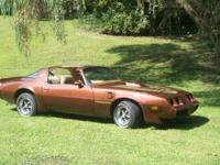 1979 Pontiac Firebird Trans Am, heritage brown numbers