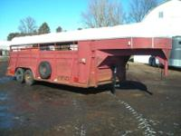 Trailer is 6 Wide, 20 Long, and 6 6 quot Tall. Features