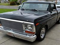 1979 Ford 1/2 ton pickup truck in very good condition.