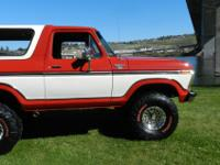 1979 Ford bronco Ranger xlt 4x4. This bronco is one for