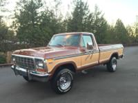 1979 Ford F-250 4x4 Ranger XLT  This truck runs &