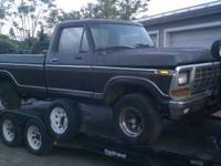 Parting out this 1979 Ford F150 4x4 300 cid,6 cylinder