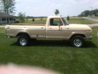 79 Ford F250 4x4, 4 spd.. Truck is from Nevada with no