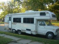 1979 RV with 82,xxx miles like new tires nice aluminum