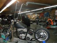 Here is a 1979 harley shovelhead. Matching frame and