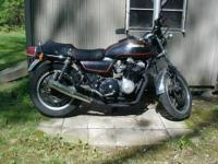 1979 Honda CB750K with a later 1982 CB900 engine w/15K