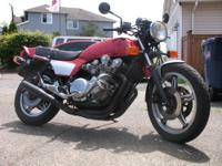 This is a 1979 Honda CB 750F that's in nice shape for a