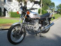 1979 Honda CBX, 15,250 original motorcycle has just had