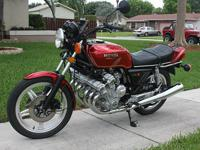 original 1979 Honda CBX in exceptionally nice