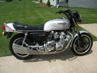1979 Honda CBX in beautiful low miles condition. Bike