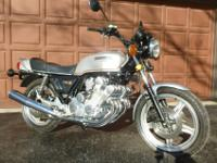 All original 1979 Honda CBX. Unmolested, original