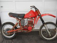 FOR SALE 1979 Honda CR250R Elsinore motorcycle. It has