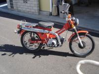 I HAVE A 1979 HONDA CT-90 TRAIL BIKE IN EXCELLENT