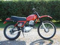 1979 Honda XR 500 fresh restoration. This bike was