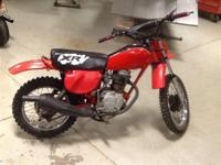 Make: Honda Year: 1979 Condition: Used XR80 Nice little