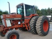 We have an International 1586 for sale. Tractor is