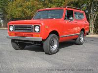This 1979 International Scout II 4x4 Wagon features a
