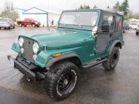 1979 Jeep CJ5. More Info and Pictures Coming Soon!