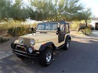 1979 Jeep CJ-7 For Sale in Fountain Hills, Arizona