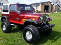 You are looking at a 1979 Jeep CJ7 Renegade 4X4 Custom