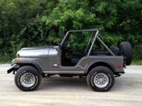 1979 Jeep CJ5 in Excellent Condition This jeep is all
