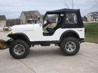 1979 Jeep CJ5 Custom Classic 3 speed manual