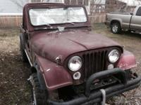 I have a 1979 Jeep CJ7 for sale for someone who is