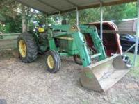 1979 John Deere 2240 tractor with 175 frontend loader