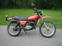 1979 Kawasaki KE-250 on/off road endure bike.250 cc 2