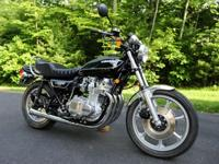 1979 KZ1000 B3 LTD, complete frame off restoration.