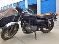 THIS IS AN ALL ORIGINAL 1979 KAWASAKI KZ 750 TWIN . NOT