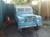 ***LAND ROVER SAFARI WAGON RARE FIND***SOLD AS IS***
