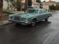 Selling my 1979 Lincoln Continental town car All